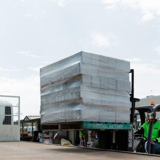 PBC product concrete grey block