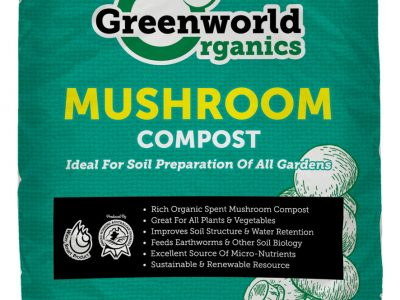 mushroom compost greenworld 25ltr